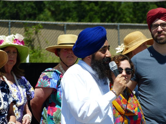 Amarjit Singh Grewal, priest and spokesperson at the