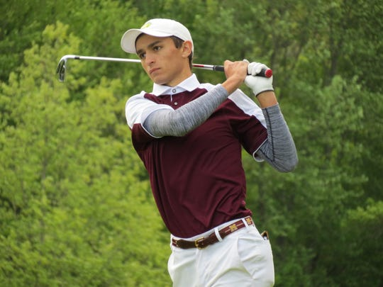 Madison junior Lucas Artigliere won the North 2 Group