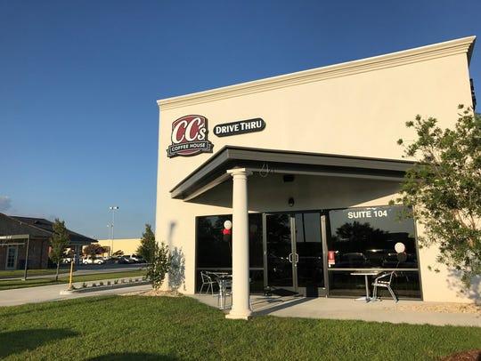 The new CC's Coffee at 3900 NE Evangeline Thruway in