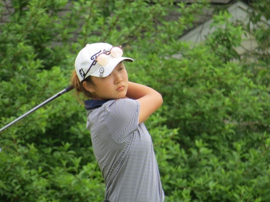 IHA freshman Yoona Kim was fourth at the NJSIAA Girls Golf Championship.