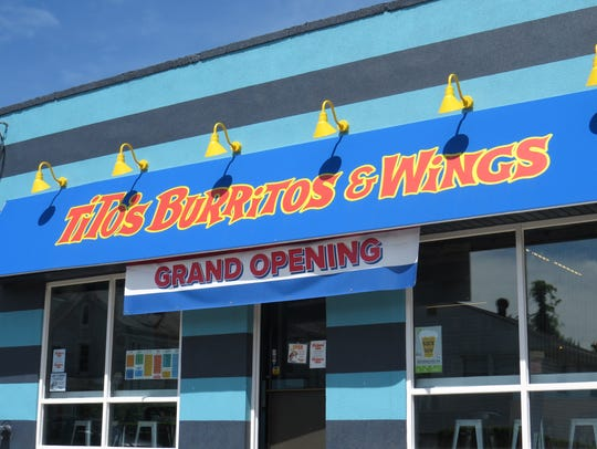 Tito's Burritos opened its fifth location this month