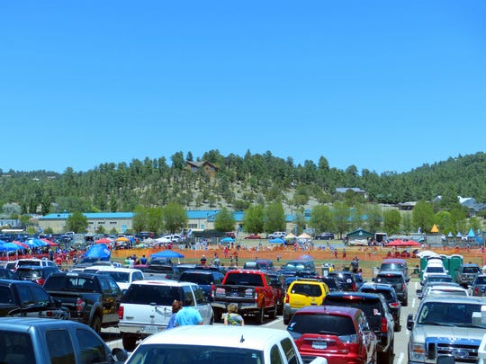 The fields and parking areas were packed over the weekend at the White Mountain Sports Complex off Hull Road in Ruidoso for the King of the Mountain tournament.