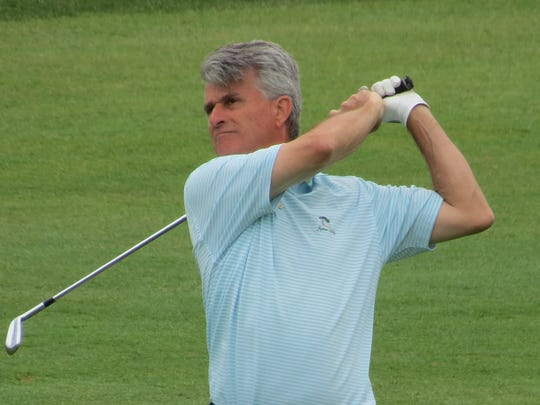 Bill Charpek was low amateur at the New Jersey Senior Open after tying for 10th on his home course.