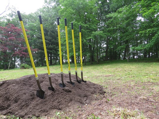 A groundbreaking for the Kleitman Woods Park project in Morristown was held Monday.