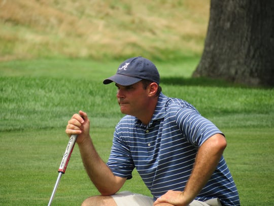 Michael O'Connell teamed with pro Grant Sturgeon to