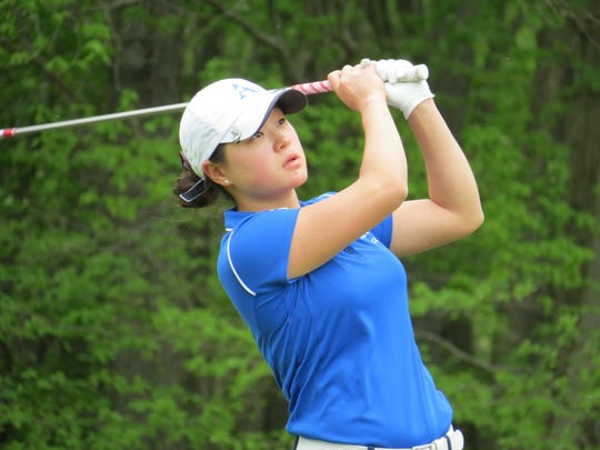 Holy Angels junior Kelly Sim is a three-time Record Girls Golfer of the Year.