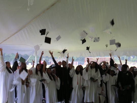 Graduation exercises for the Class of 2017 at The Wardlaw-Hartridge