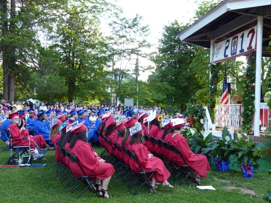 The 2017 Dunellen High School graduating class.