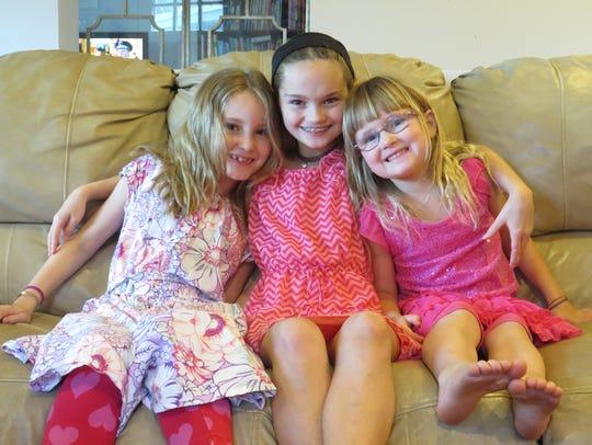 Katelyn, Jillian, and Molly Wheelock.