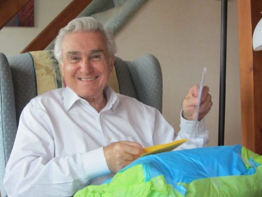 Former Rep. Maurice Hinchey at home in Saugerties.