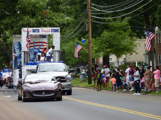 The 94th Annual Central Jersey Independence Day parade in Plainfield.