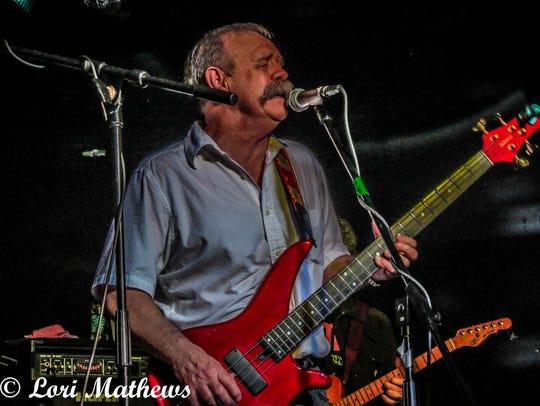 Jimbo Jones, bass player for Harmony, at a reunion