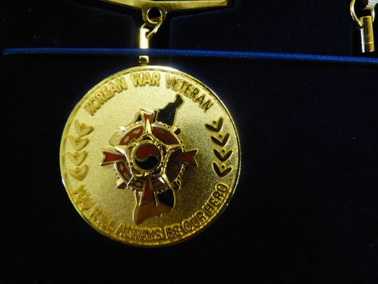 Ambassador for Peace medals are an expression of appreciation