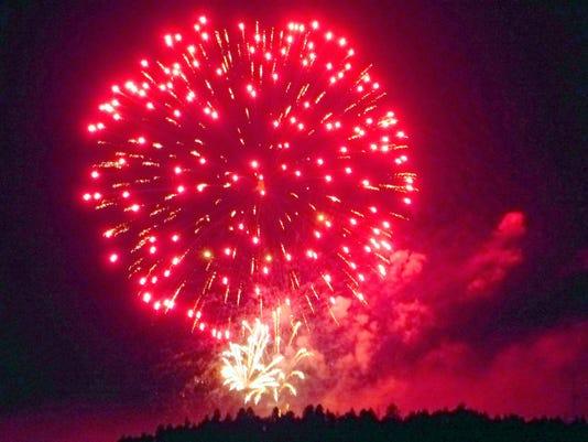 fireworks at IMG