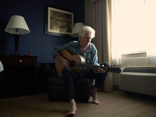 """When I feel something very deeply,"" said Graham Nash, ""that's when I start to write."""