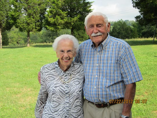 Irma and Joe Roberts celebrated their 70th wedding anniversary on July 13.