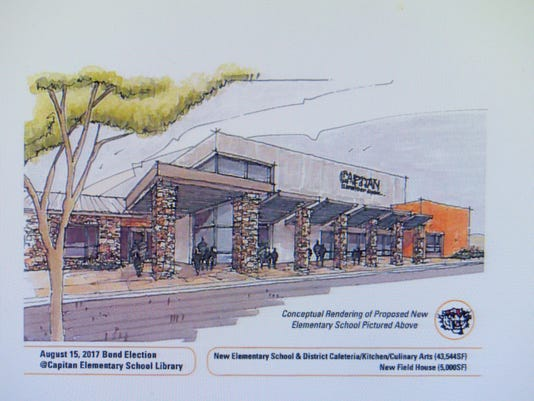 architect rendering of new elementary school