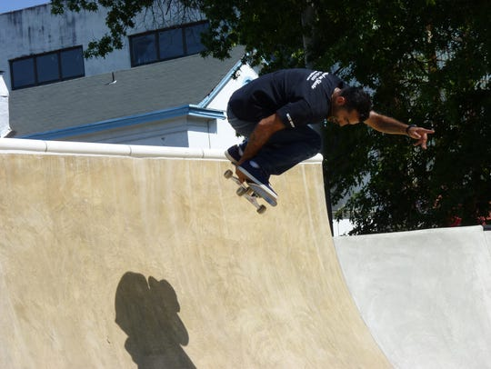 The Madison Avenue Skate Park opened in 2017, one of the accomplishments of Mayor Adrian Mapp's administration.