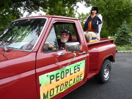 Jim Girvan, of Branchburg, gets ready for the People's