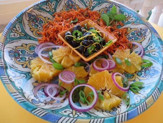 636377118930737379-Maghreb-salads---Marrakech-Carrots-top-Algerian-Kasba-Olives-center-Casablanca-Orange-Salad-bottom-.JPG