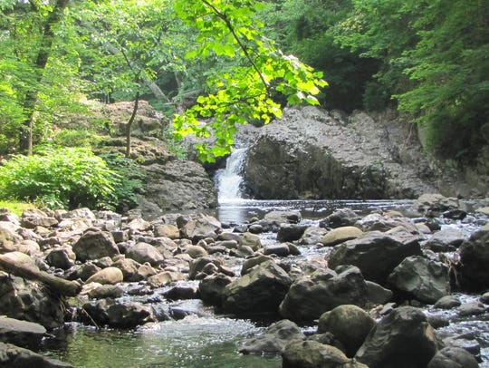 Devil's Hole in Cedar Grove, the deepest part of the