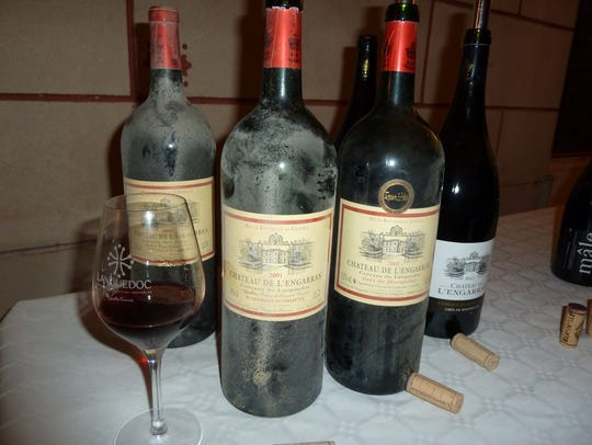 Vintage magnums of red from Chateau DE L'Engarran,
