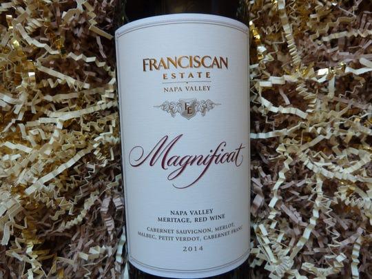 Franciscan Estate 2014 Magnificat Meritage, $55.