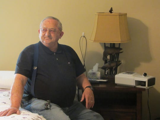 """I couldn't believe how good I felt,"" said Virgil Pfeifle about his sleep with CPAP. ""I had more energy. I was wide awake. I felt damn good in the morning."""