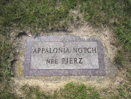 Appalonia Pierz Notch, sister of missionary Francis