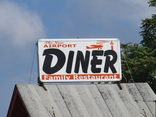 The Airport Diner in Wantage was vandalized Sunday