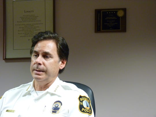 Edison Police Chief Thomas Bryan