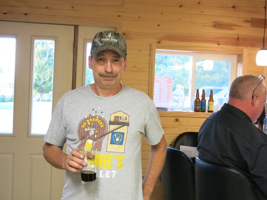 Dan Schey and his wife opened Hubbleton Brewing Co. in March.