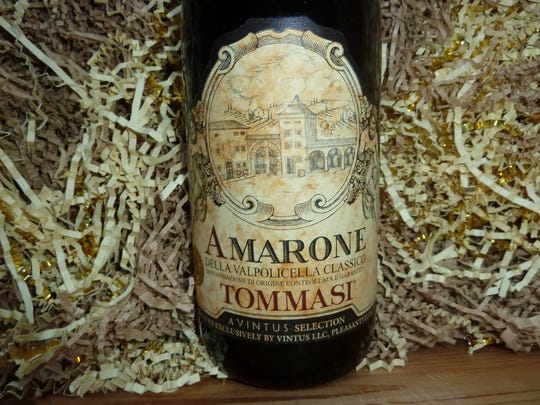 The 2013 Tomassi Amarone, $80,is classic example of
