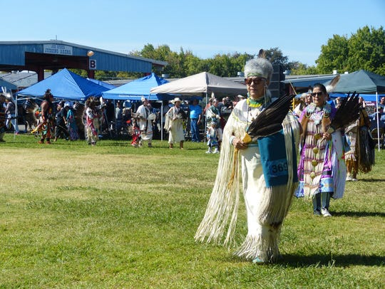 Redding Rancheria's Stillwater Pow Wow features a number