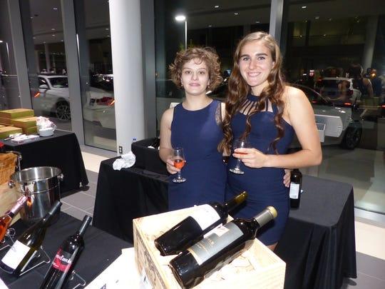 Helene Fertal owner of Birmingham Wine, with Erica Munyan.