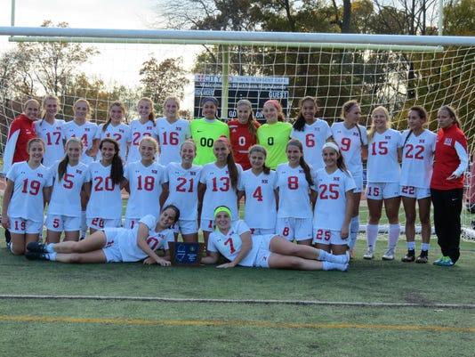 Northern Highlands girls soccer team