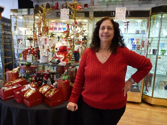 Mary Pekun, owner of the Crystal Palace in Somerville.