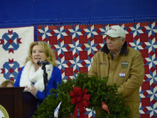 Karen and Morrill Worcester whose personal tribute to veterans led to the creation of Wreaths Across America.