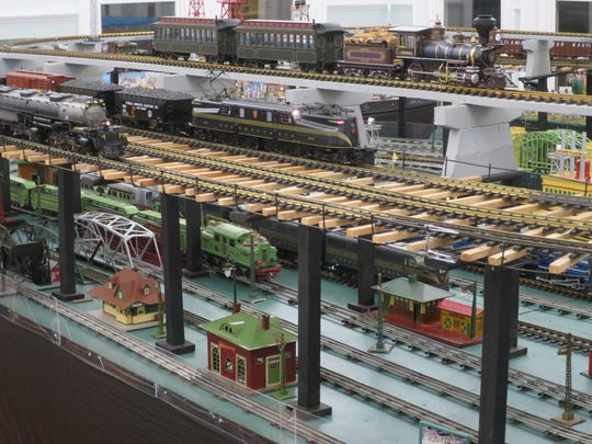 Vintage trains are awaiting visitors to the Holiday Train Show in Bordentown.