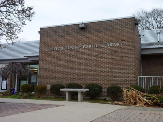 The Scotch Plains Public Library on Bartle Avenue.