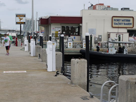 The city of Fort Myers Yacht Basin Ship and Convenience