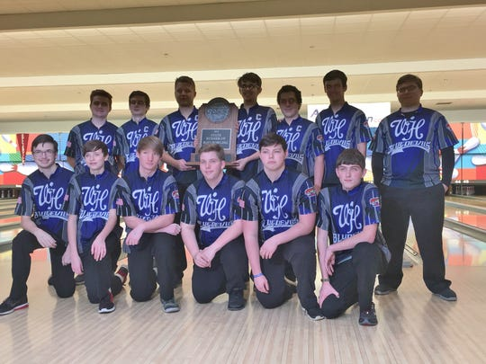 The White House High boys bowling team finished state runner-up in Division I.