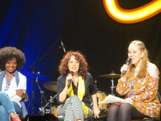 LaChanze, Janet Dacal and Jennifer Ashley Tepper chat