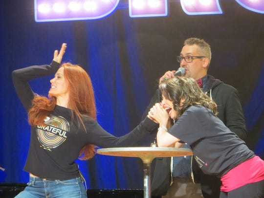 Sierra Boggess and Lesli Margherita get serious during