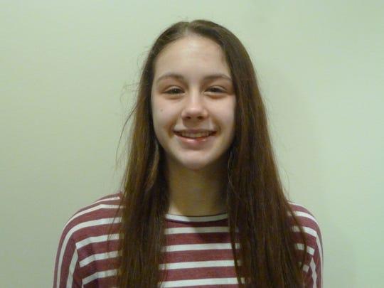 South Salem freshman Hilary James