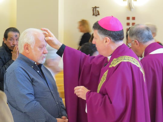 Diocese of Metuchen Bishop James F. Checchio marked