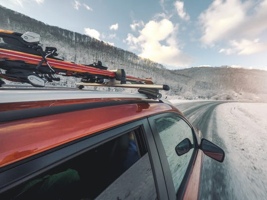 Adding a ski rack to your vehicle will free up room for you and your passengers inside.