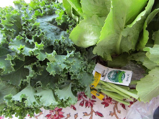 As spring arrives, the final winter tailgate markets are full of fresh greens.