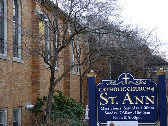 St. Ann's church in Raritan Borough.