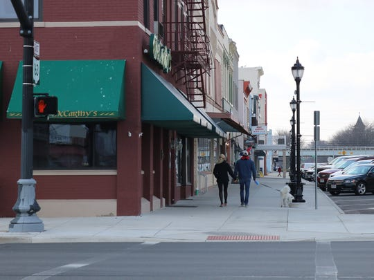 Pub crawls in Port Clinton could be getting a little breezier for patrons of popular downtown establishments as city officials are considering a proposed designated outdoor refreshment area.